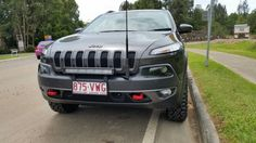 Bull-Bar - 2016 Trailhawk - Page 5 - Jeep Cherokee Forums Jeep Cherokee Accessories, Jeep Cherokee Trailhawk, Bull Bar, Hummer H2, Chrysler Jeep, Jeep Stuff, Cigars, Cars And Motorcycles, Offroad