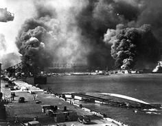 Japanese attack on Pearl Harbor, December 7,1941