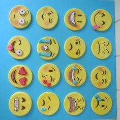 How To Make Emoji Cupcake Toppers