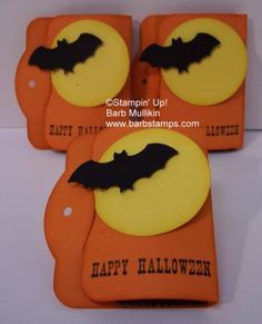 stampin up halloween card ideas | Fun Halloween Treats by luv my dolly - Cards and Paper Crafts at ...