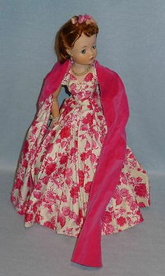 """Vintage 50s Madame Alexander 20"""" REDHEAD CISSY CAMELLIA Doll, Large Old Toy.MA"""