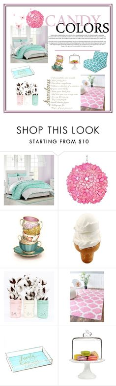 """Elizabeth's room!"" by ieva-galvina ❤ liked on Polyvore featuring interior, interiors, interior design, home, home decor, interior decorating, PBteen, Worlds Away, Tri-coastal Design and Martha Stewart"
