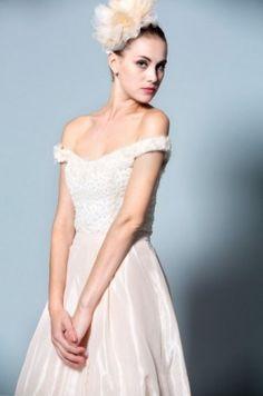 Embossed Embroidery Wedding Dress From Darius Bridal