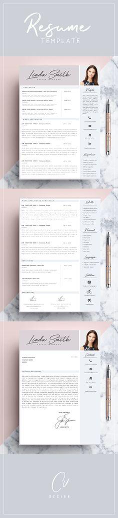33 best C V images on Pinterest | Resume design, Cv template and ...