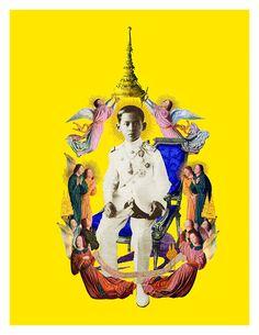 Our Beloved King King Of Kings, My King, King Queen, King Thailand, Thailand Art, King Painting, King Rama 9, Queen Sirikit, Bhumibol Adulyadej