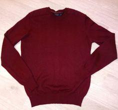 Odzież Używana Wschowa tel 574671215: Sweter męski ZARA MAN r.XS/S bordowy okazja, hurt,... Man, Men Sweater, Golf, Turtle Neck, Pullover, Sweaters, Fashion, Tunics, Moda