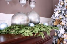 Shine Up Your Holidays With DIY Mercury Glass Globes