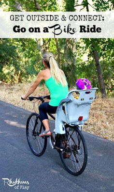 Going for a bike ride is a fantastic activity. You can get outside, connect with nature, reduce stress, burn calories, and improve heart health all while building endurance, muscle strength and stamina.
