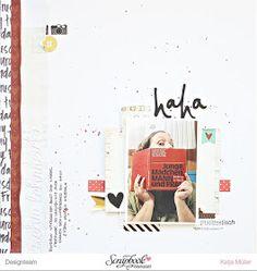 ScrapbookWerkstatt Novemberkit - Layout von Katja Müller