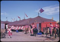 The Circus in the 1940s