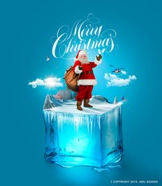 Merry Christmas on Behance