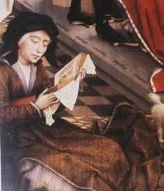 Woman Reading Book of Hours, by Roger van der Weyden
