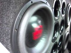 4 12'' DD 9512 Subwoofers on 2 MMATS pro audio amplifers - YouTube