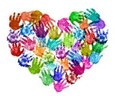 {take a picture and make sure each child gets a copy! Could even have them sign their heart!}