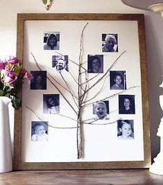 Fun picture family tree