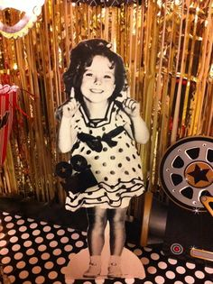 Oscar party photo booth props