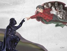 Uno de los villanos mas carismáticos del mundo del cine y la ciencia ficción es sin duda, Darth Vader. Un personaje creado por George Lucas para la saga star wars y el cual nos apasiona en oldskull. Por ello le dedicamos este especial con 20 ilustraciones realizadas por fans para fans. Que la fuerza os acompañe.