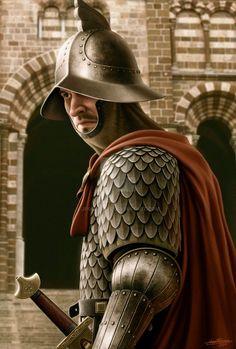 Carolingian Guardsman by JFoliveras