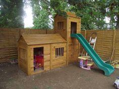 Fabrication cabane enfant recyclage palettes