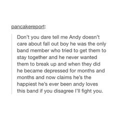 We can get an army of boss ass bitches who will fight anyone who talks shit about Andy Hurley.
