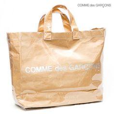 COMME des GARCONS トートバッグ コムデギャルソン 新定番 大人気ビニールトート ショッパー付