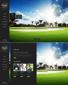 Golf Website Template #html #sport http://www.templatemonster.com/website-templates/44960.html?utm_source=pinterest&utm_medium=timeline&utm_campaign=golf