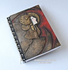 notebook steampunk art nouveau. I can totally see @Jess Liu Burde using this one for a story or gaming!