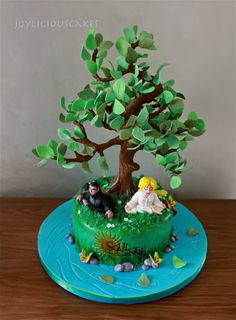 Tall Tree Tutorial - CakesDecor