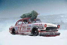 GAZ 21 Volga NASCAR edition, Vladimir Grynchuk on ArtStation at https://www.artstation.com/artwork/Q3NJB
