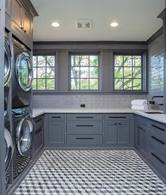 ✓ 80 Farmhouse Laundry Room Decor Ideas – Best Home Decorating Ideas - Page 43 Mudroom Laundry Room, Laundry Room Layouts, Large Laundry Rooms, Laundry Room Remodel, Laundry Room Cabinets, Farmhouse Laundry Room, Laundry Room Organization, Laundry Room Design, Small Laundry