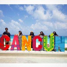 Cancun colors  fun with @projectjetaway & co! Travel Well #TravelFly! :::::::::::::::::::::::::::::: #PassportLife #BlackGirlsTravel #PassportReady #Travel #BrownGirlsTravel #DoYouTravel #Wanderlust #Fernweh #TravelTheWorld #TravelOn #BlackTravelers #TravelAddict #TravelJunkie #TasteInTravel #LadiesGoneGlobal #LuxeTravel #WellTraveled #InspireToTravel #TravelLife #TravelGram #TravelBetter #IGTravel #WeTravel #Explore #PassionPassport #JetSetting