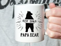 Mens Fathers Day Gift from Son Coffee Mug Fathers Day Gift from Daughter Coffee Mug First Fathers Day Gift From Baby Funny Dad Gift Dad Mug by fieldtrip on Etsy https://www.etsy.com/listing/292325877/mens-fathers-day-gift-from-son-coffee