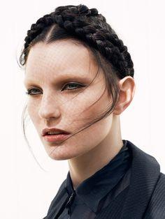 Odalïsque Magazine Photo: Nina Holma/ArtOfficial Agency Styling: Qim Claesson Make up: Pari Damani/Hall&Lundgren Hair: Elin Eriksson/Agent Bauer