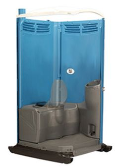 Deluxe Portable #Restroom Unit