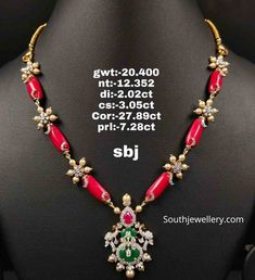 Indian Jewellery Designs - Page 2 of 1735 - Latest Indian Jewellery Designs 2020 ~ 22 Carat Gold Jewellery one gram gold Fancy Jewellery, Gold Jewellery Design, Bead Jewellery, Bridal Jewellery, Temple Jewellery, Jewelry Design Earrings, Necklace Designs, Gold Jewelry Simple, Indian Jewelry