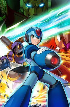 Mega Man: Maverick Hunter X - The Day of Sigma - Animated Cartoons Mega Man, Nintendo, Clash Of Clans, Kingdom Hearts, Maverick Hunter, Videogames, Megaman Zero, Megaman Series, D Mark