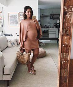 Inspiração Look Gestante - Vestido | Juliana Goes