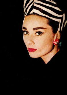 Audrey Hepbrun 1956