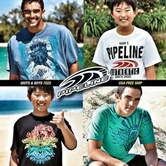 Pipeline on the North Shore of Oahu, is undoubtedly one of the the heaviest and most deadly waves in the world. Now you can wear a piece of Aloha for the summer.Check out the PIPELINE Online Surf Shop at pipelinegear.com. Always get Free ship in USA on all orders with No Minimums.