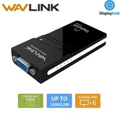 USB 2.0 to VGA Video Graphics Display Adapter Connects Extra Monitor (HDTV/LCD/Projector) up to 1920x1080 HD Displaylink Wavlink //Price: $35.51//     #electonics