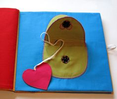 AND SEW IT GOES: Busy Book