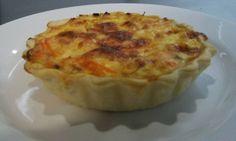 Quiche de Salmón por Nabé Zanashielii Rasgado #mariscos #quiche #salmon #diy #platillo #chef #easy #receta #recetasitacate #itacate #aniversario #fiestas #ligth