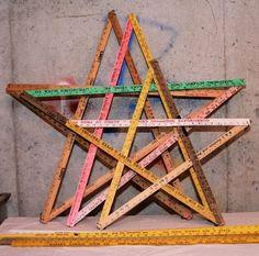 DIY ruler stars..