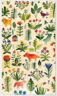 Garden rug by Aitch