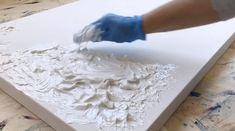 Textured Canvas Art, Abstract Canvas Art, Diy Canvas Art, Diy Wall Art, Diy Art, Acrylic Art, Abstract Painting Techniques, Painting Tips, Painting Art