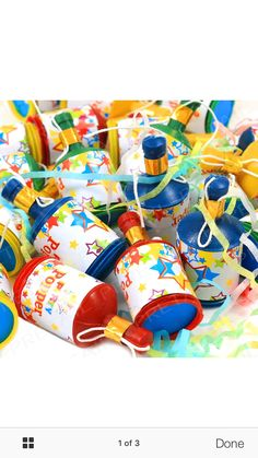 Party poppers - eBay
