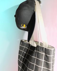 A trip to the grocery store with funky banana hat and worn out tote bag. Keep the outfit plain and simple with minimal colours and pattens but don't forget to add a bit of fun to it. Grocery Store, Gym Bag, Minimal, Forget, Rice, Banana, Colours, Tote Bag, Simple