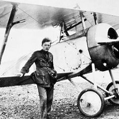 """The Lone Hawk"" Billy Bishop, VC. One of the most celebrated pilots in Canadian history, he claimed 72 victories, though his contemporaries cast doubts on many of his claims. World War One, First World, Canadian Things, Flying Ace, Canada Eh, Canadian History, Historical Pictures, Military History, Instrumental"