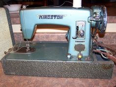 Vintage Kingston Precision Sewing Machine Tested and Works | eBay