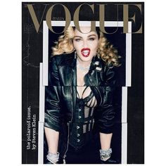 The polaroid issue by @stevenkleinstudio @madonna wearing @ysl by @anthonyvaccarello styled by @ariannephillips hair @andylecompte make up #AaronSmithHenrikson manicure @naominailsnyc set design @jessekaufmann thanks to The Impossible Project @impossible_hq  via VOGUE ITALIA MAGAZINE OFFICIAL INSTAGRAM - Fashion Campaigns  Haute Couture  Advertising  Editorial Photography  Magazine Cover Designs  Supermodels  Runway Models